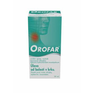Orofar oral spray 30 ml