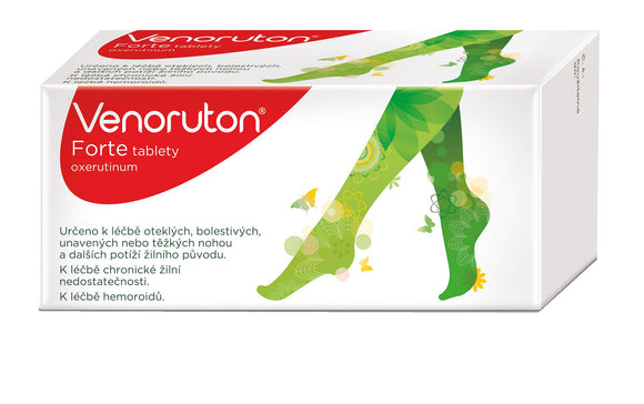 Venoruton Forte 500 mg 60 tablets swollen heavy tired legs - mydrxm.com