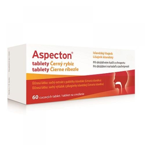 Aspecton  black currant against cough 60 tablets