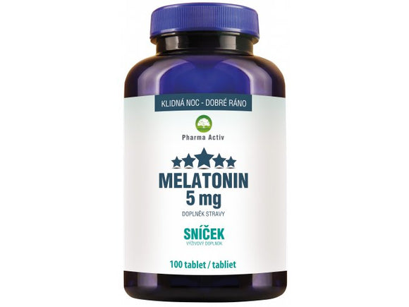 Melatonin Sweet 5 mg 100 tablets - mydrxm.com