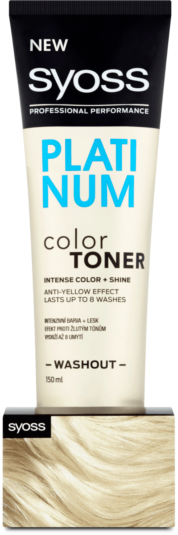 syoss Hair Color Toner Platinum, 150 ml