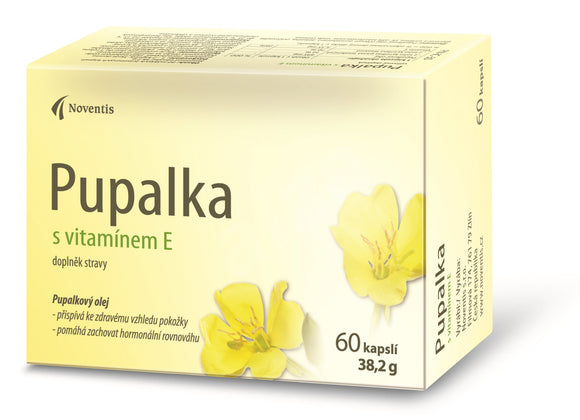 Pupalka Evening primrose with vitamin E 60 capsules