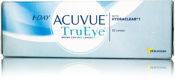 Acuvue TruEye 1-day with Hydraclear 30 contact lenses
