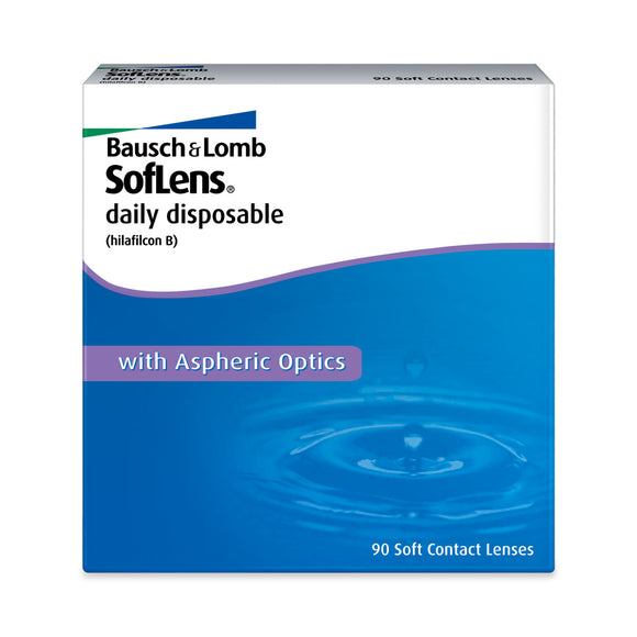 Bausch and Lomb SofLens Daily 90 Disposable contact lenses