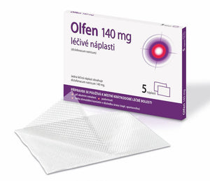 Olfen 140 mg patch 5 pcs - mydrxm.com