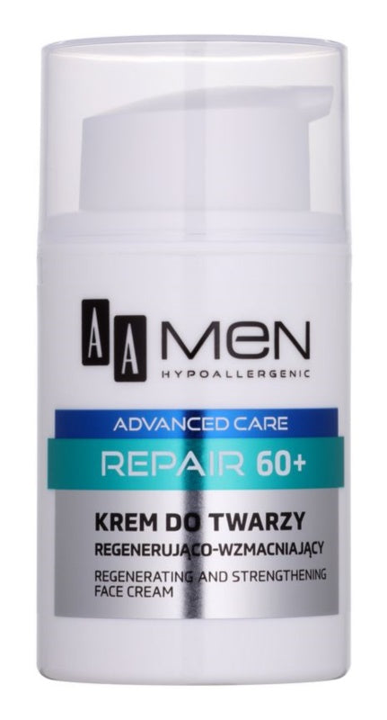 AA Cosmetics Men Advanced Care Regenerating Face Cream 60+ 50ml
