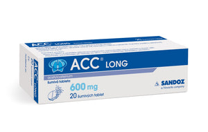 Sandoz ACC LONG 600 mg 20 dissolving tablets - mydrxm.com