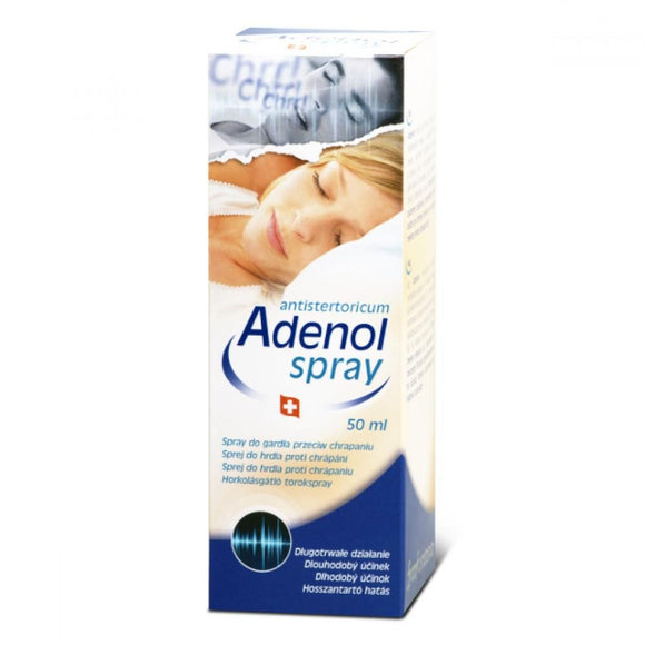 Adenol Anti Snoring Spray Throat 50 ml - mydrxm.com
