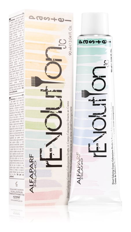 Alfaparf Milano Revolution Pastel Hair Color PASTEL GREEN 90 ml