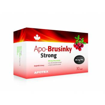 Apotex APO-Cranberries Strong 500 mg 30 capsules - mydrxm.com