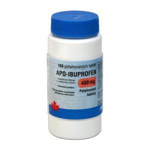 APO-Ibuprofen 400 mg 100 tablets pain and fever relief - mydrxm.com