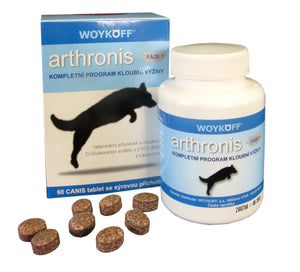 Woykoff Arthronis Phase 1 Cheese Flavor 60 Tablets Vitamins for Dogs - mydrxm.com