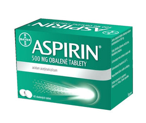 Aspirin 500 mg 80 tablets - mydrxm.com