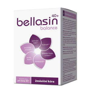 Bellasin Balance 40+ 120 capsules menopause symptoms relief helps burn fat - mydrxm.com