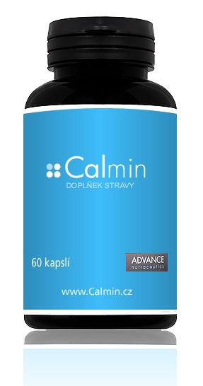 Advance Calmin 60 capsules relax and sleep food supplement - mydrxm.com