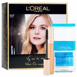 Loréal Paris Christmas mascara + eye make-up remover Gift box
