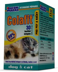 Colafit for dogs and cats, 30 cubes Pure Collagen - mydrxm.com