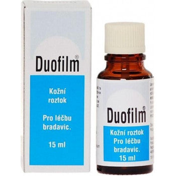 Duofilm skin solution 15ml warts removal - mydrxm.com