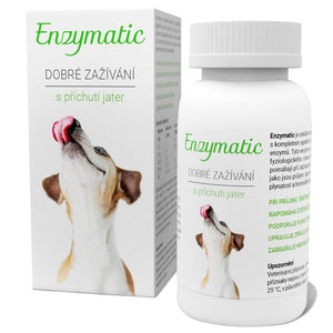 Enzymatic 90 tablets digestive problems and diarrhea for dogs - mydrxm.com