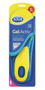 Scholl Everyday shoe insoles gel for women 1 pair - mydrxm.com