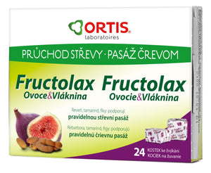 Ortis Fructolax 24 Chewing Cubes counteract the constipation. - mydrxm.com