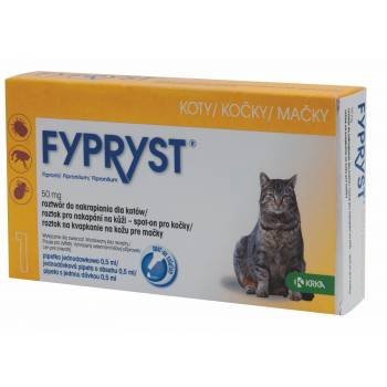 Fypryst Spot-on Cat 1 pipette - mydrxm.com