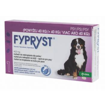 Fypryst Spot-on XL dog over 40 kg 1 pipette - mydrxm.com
