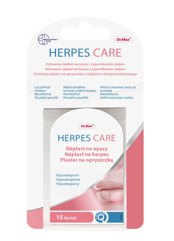 Dr.Max Herpes Care patch 15 pieces - mydrxm.com