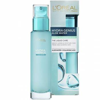 Loréal Paris Hydra Genius Water moisturizing care for normal to combination skin 70 ml - mydrxm.com