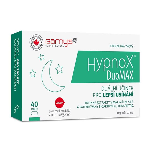 Barny's Hypnox DuoMAX 40 tablets for better and healthy sleep - mydrxm.com