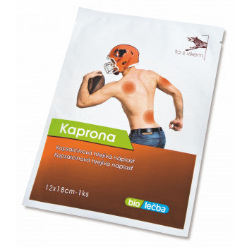 Kaprona Capsaicin warming patch 12x18 cm 5 pcs - mydrxm.com