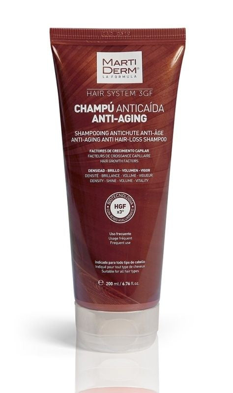 MARTIDERM Hair System Anti Aging Anti-Hair Loss Shampoo 200 ml - mydrxm.com