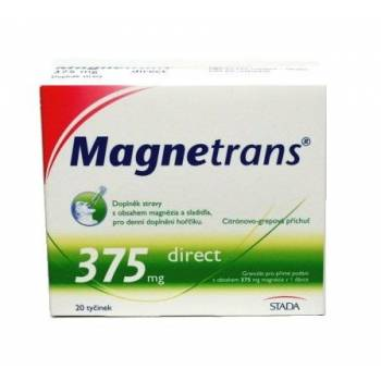 Magnetrans 375 mg 20 bars of granules