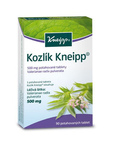 Kneipp Kozlík (Valeriana) 500 mg 90 film-coated tablets - mydrxm.com