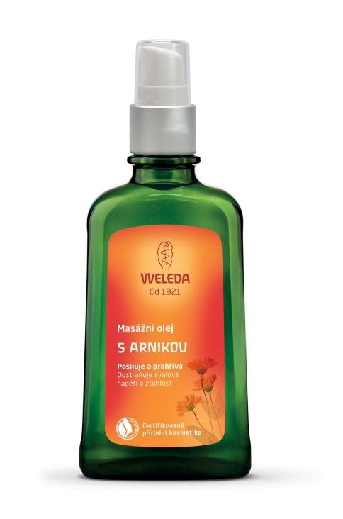 Weleda Massage oil with arnica 100 ml - mydrxm.com