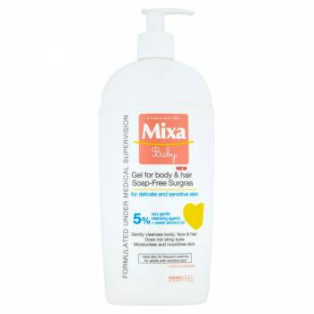 Mixa Baby Extra Nourishing Washing Gel For Body And Hair 400 ml