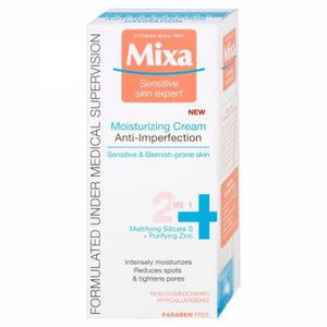 Mixa Moisturizing Anti-imperfection Cream 2-in-1 50 ml