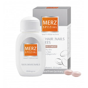 Merz Special Skin Hair Nails beauty care treatment 60 dragees - mydrxm.com