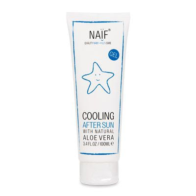 NAIF After-sun cooling gel for children and babies 100 ml - mydrxm.com