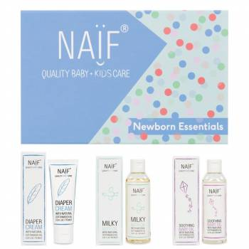 NAIF Newborn cosmetics Gift set 3 pcs