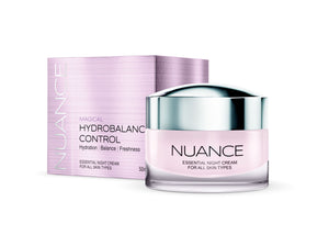 Nuance Magical Hydrobalance Control Night Cream For All Skin Types 50ml - mydrxm.com