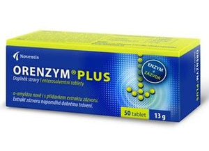 Orenzym Plus 50 tablets for good digestion - mydrxm.com