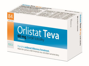 Orlistat Teva 60 mg 84 capsules weight loss - mydrxm.com