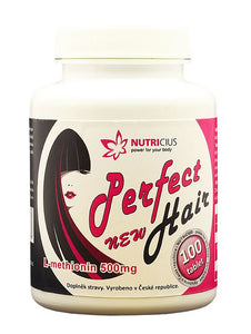 Nutricius Perfect new HAIR 500 mg 100 tablets - mydrxm.com