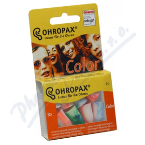 Ohropax Hearing protector Color Ear plugs 8 pcs