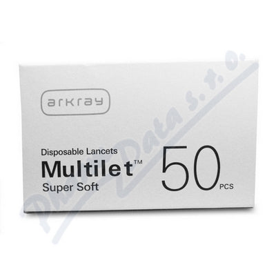 Arkray Multilet Super Soft Disposable Lancets 50 pcs
