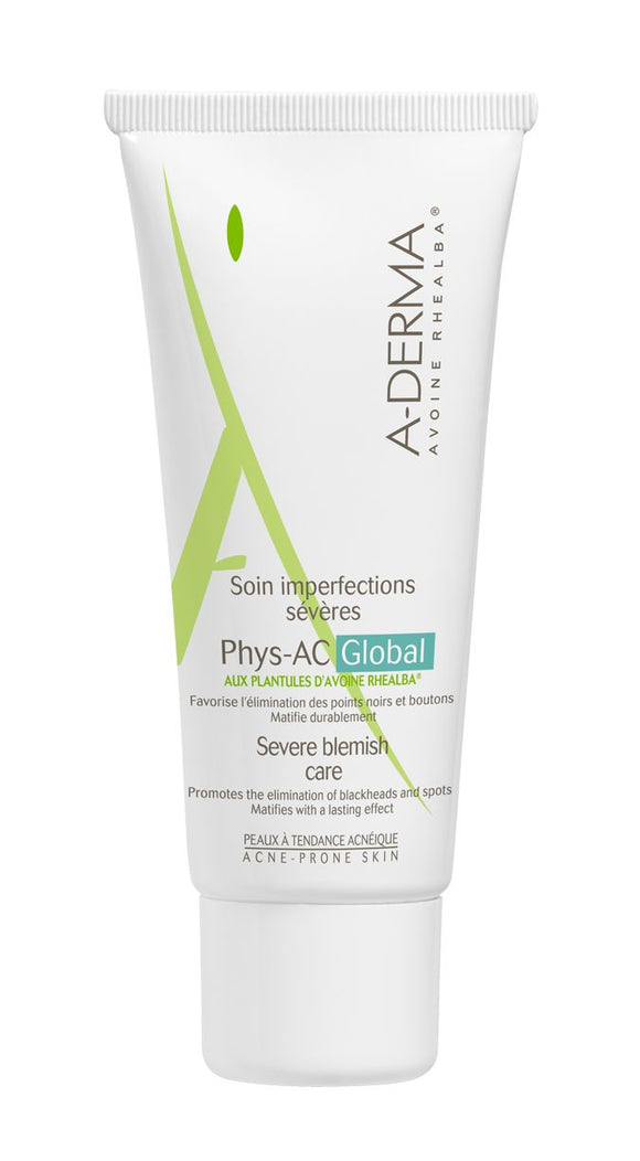 A-derma Phys-AC Global Skin Care Deficiency 40 ml - mydrxm.com