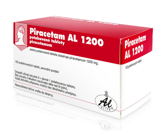 Piracetam AL 1200 mg 120 film-coated tablets - mydrxm.com