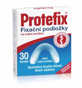 Protefix Fixing pads for lower dentures 30 pcs