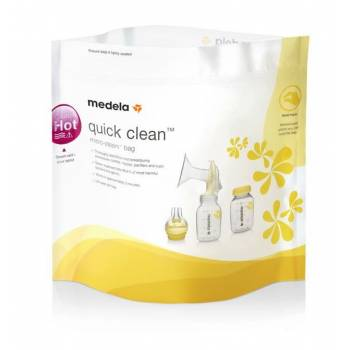 Medela Quick Clean Bags for microwave cleaning 20 pcs